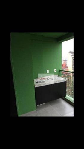 studio com 1 dormitório para alugar, 35 m² por r$ 2.450/mês - bela vista - são paulo/sp - st0110