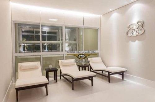 studio com 1 dormitório à venda, 35 m² por r$ 400.000,00 - tatuapé - são paulo/sp - st0054