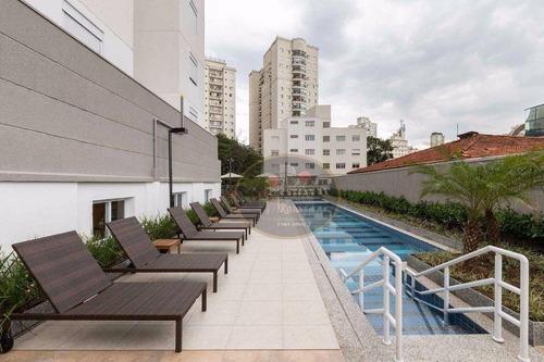 studio com 1 dormitório à venda, 36 m² por r$ 372.300 - campo belo - são paulo/sp valores reais!! - st0085