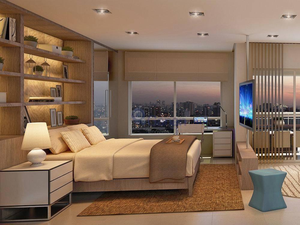 studio com 1 dormitório à venda, 43 m² por r$ 534.767 - campo belo - são paulo/sp - st0122