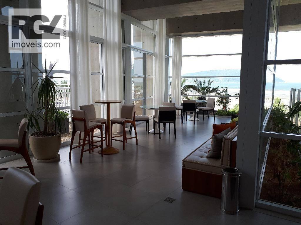 studio com 1 dormitório à venda, 51 m² por r$ 548.000 - josé menino - santos/sp - st0011
