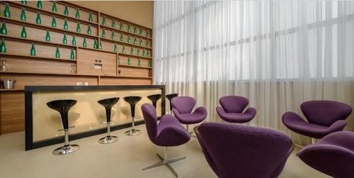 studio com 1 vaga, lazer e ótima localização, mobiliado!! - 3-im196125