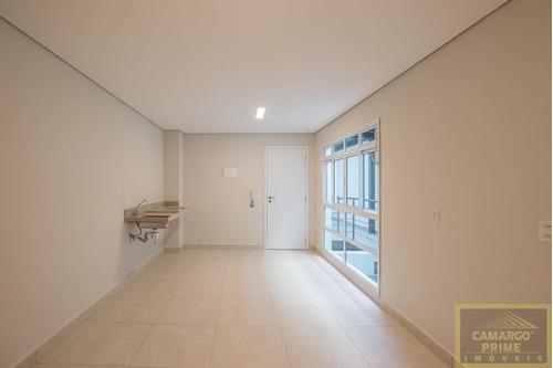 studio com 24,50 metros, em santa cecília, semi mobiliado - pacote r$1488,00 - eb84240