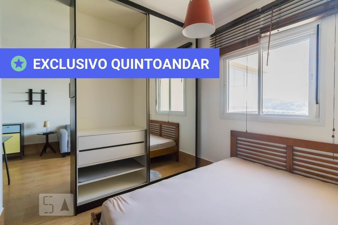 studio no 19º andar mobiliado com 1 dormitório e 1 garagem - id: 892974448 - 274448