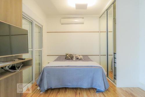 studio no 19º andar mobiliado com 1 dormitório e 2 garagens - id: 892935151 - 235151