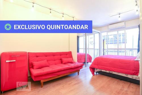 studio no 2º andar mobiliado com 1 dormitório - id: 892925865 - 225865