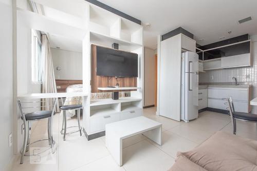 studio no 21º andar mobiliado com 1 dormitório e 1 garagem - id: 892893479 - 193479