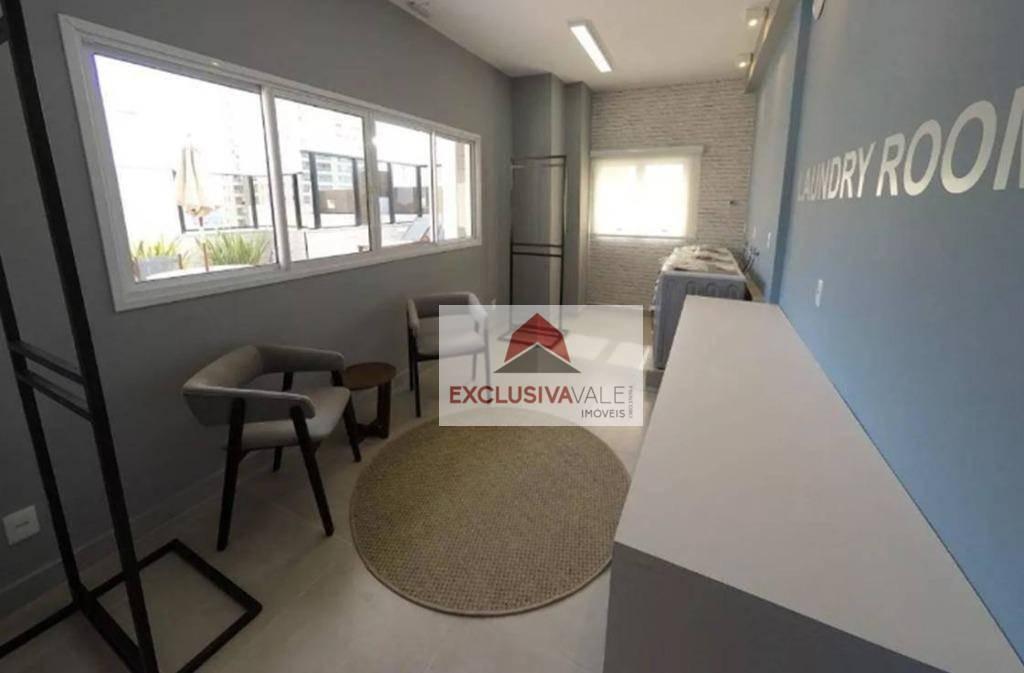 studio para alugar, 40 m² por r$ 1.500,00/mês - jardim aquarius - são josé dos campos/sp - st0006