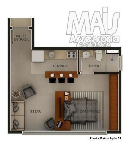 studio para venda em novo hamburgo, centro, 1 vaga - lva050_2-937989