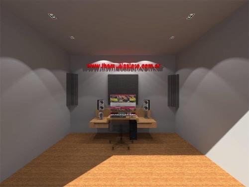 studio placas acusticas