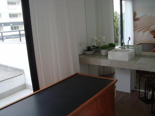 studio residencial para locação, campo belo, são paulo. - st0027