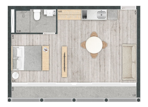 studio residencial para venda, bela vista, são paulo - st2377. - st2377