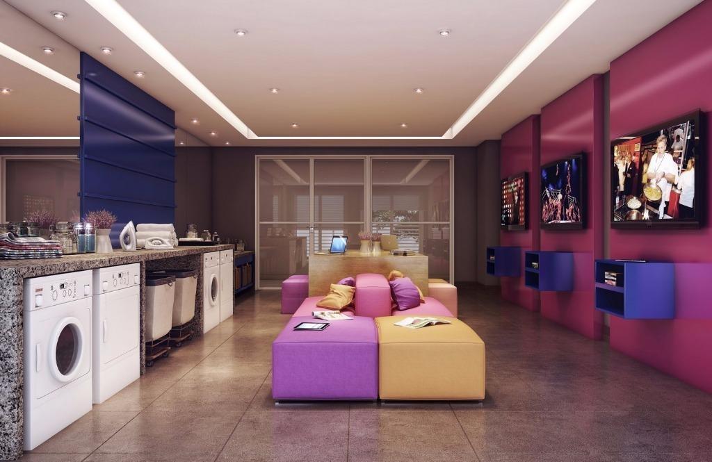 studio residencial à venda, tamboré, santana de parnaíba. - st0051