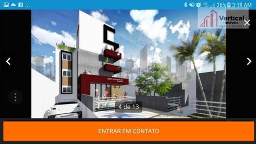 studio residencial à venda, vila esperança, são paulo. - st0005
