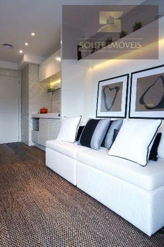 studio residencial à venda, vila madalena, são paulo. - codigo: st0001 - st0001