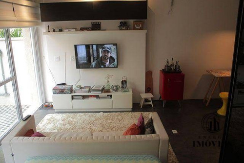 studio residencial à venda, vila pompéia, são paulo. - st0087
