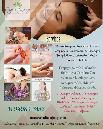 studio ssfauzi #massagem, #terapias, #corpo, pés e mãos.