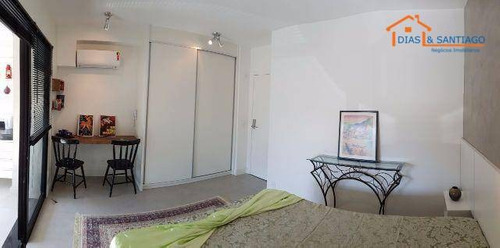 studio vila mariana totalmente mobiliado - novo - ap1597