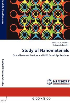 study of nanomaterials; sharma, prashant k. envío gratis