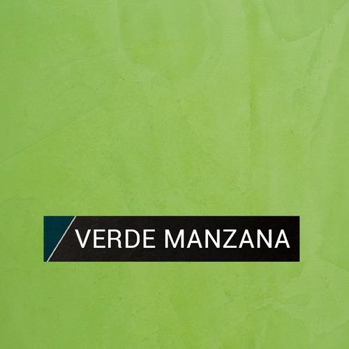 stuko veneciano tarquini revestimiento verde manzana