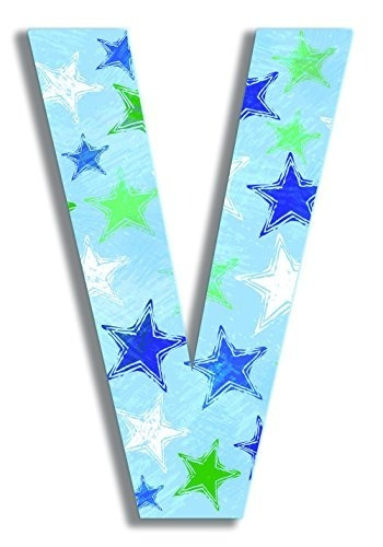stupell home décor blue distressed stars incrustaciones de m