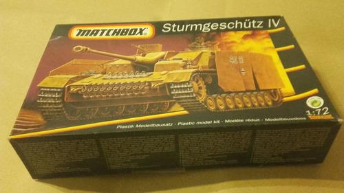 sturmgeschutz iv a esc 1/72 matxhbox