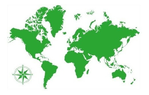 style & apply detailed world map wall decal educational wall