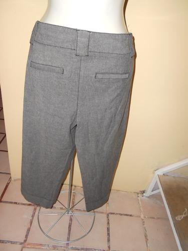 style & co.***capri gris talla 12***