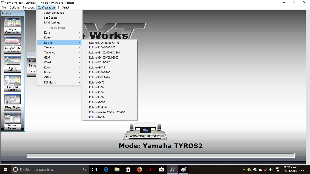 Download Style Works 2000 Universal