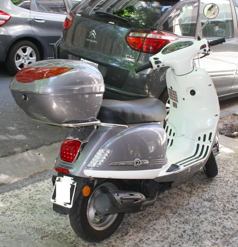 styler 125 exclusive moto zanella