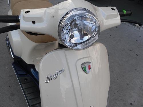 styler exclusive 150 z3 scooter retro vintage vespa