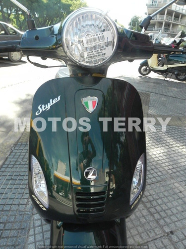 styler exclusive scooter moto zanella