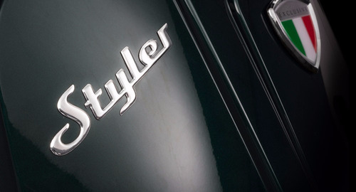 styler exclusive zanella moto scooter