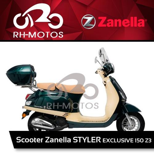 styler scooter 150 moto zanella