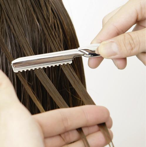 styling razor navaja de corte feather de japon