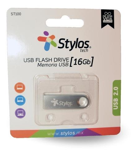stylos memoria usb 16gb metalica mayoreo original nueva sellada garantia alta transferencia