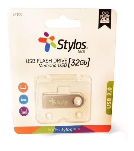 stylos memoria usb 32gb metalica mayoreo original nueva sellada garantia alta transferencia