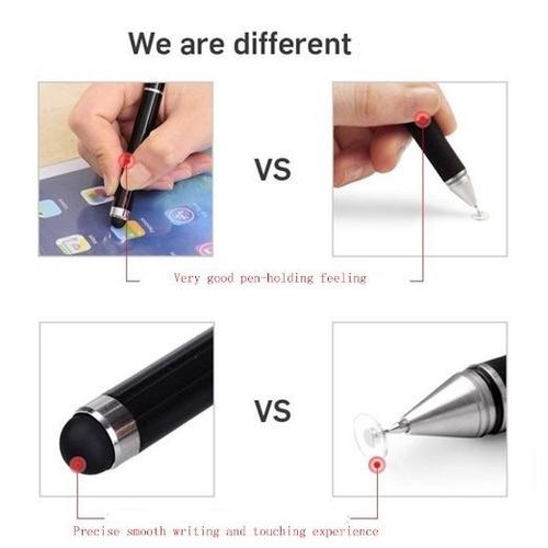 stylus de disco lápiz  punta fina ipad galaxy dibujo diseño