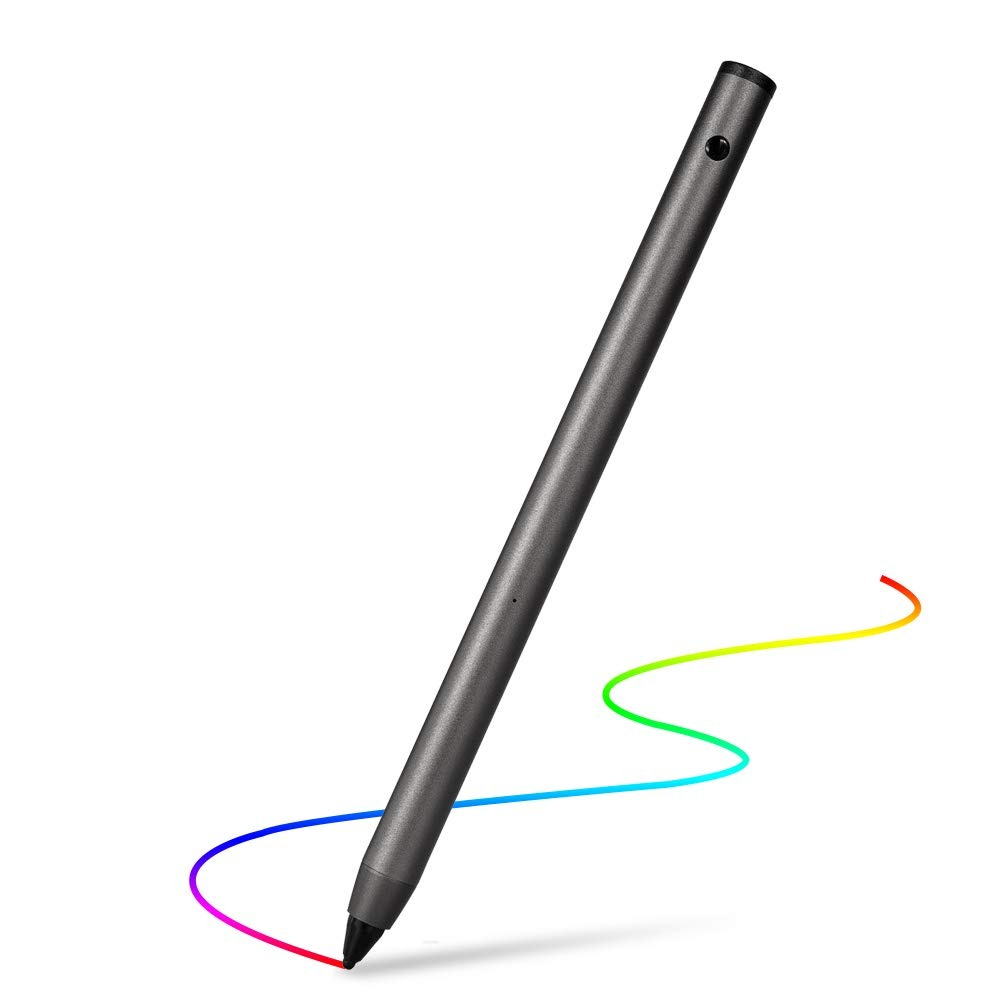 Compatible con iPhone//iPad//Samsung//Smartphones//Tablet iOS//Android DIGDAN Lapiz Tactil Recargable L/ápiz Digital de Punta Fina y L/ápiz Optico Activo para Pantallas T/áctiles para Escritura//Dibujo