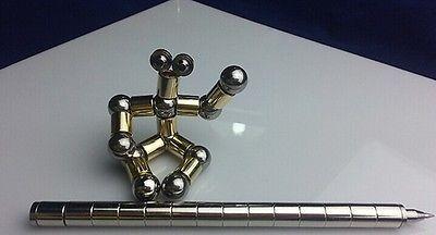 stylus pluma 12 bolas de acero regalo de neodimio modular pl