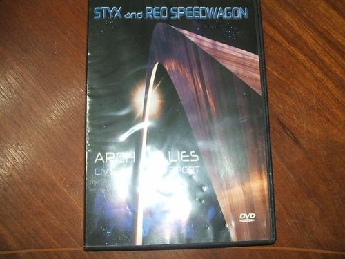 styx & speedwagon  dvd original