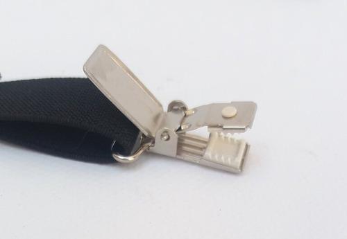 su 025 . suspensório básico. couro legítimo. frete grátis