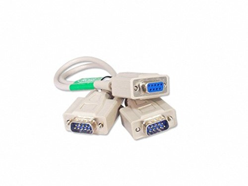 su cable store 1 pie 9 pines cable divisor serie db9 2 macho