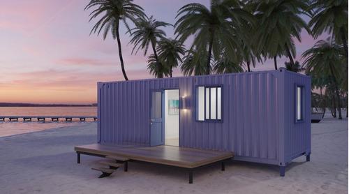 su casa en un container / contenedor en 30 / 40 días :)