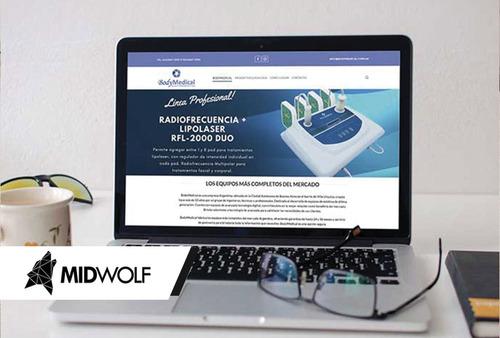 su pagina web por u$s 200 - diseño web autoadministrable