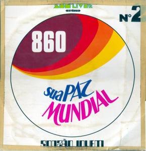 sua paz mundial vol 2   lp  coletanea  funk/disco/soul
