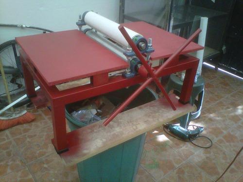 suajadora de rodillos manual 50 cms ( portatil ) $ 4,500