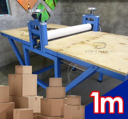 Suajadora electrica para fabricacion de caja de carton for Cajas de carton puebla