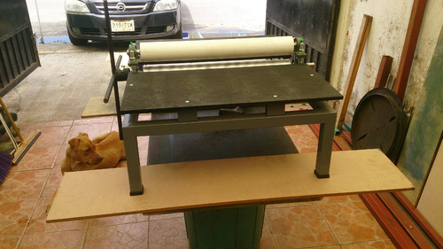 suajadora ( traquel )  de rodillos manual 60 cms ancho
