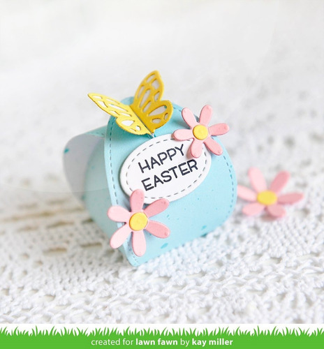 suaje cortador lawn fawn scrapbook caja butterfly treat box